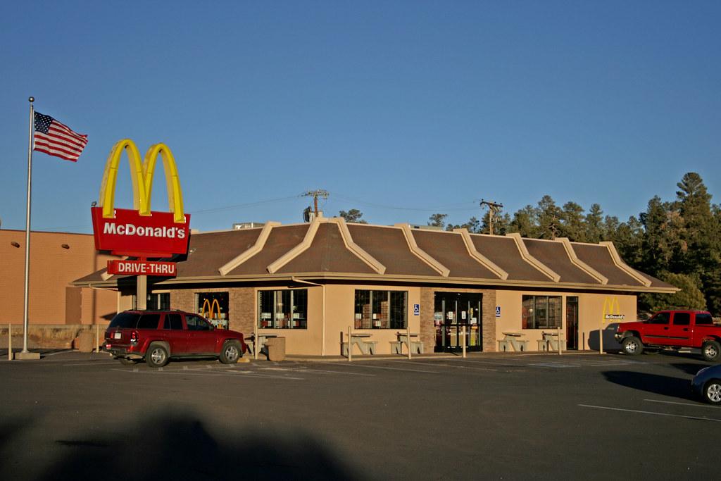 Mcdonald S Tusayan Arizona Usa The One And Only
