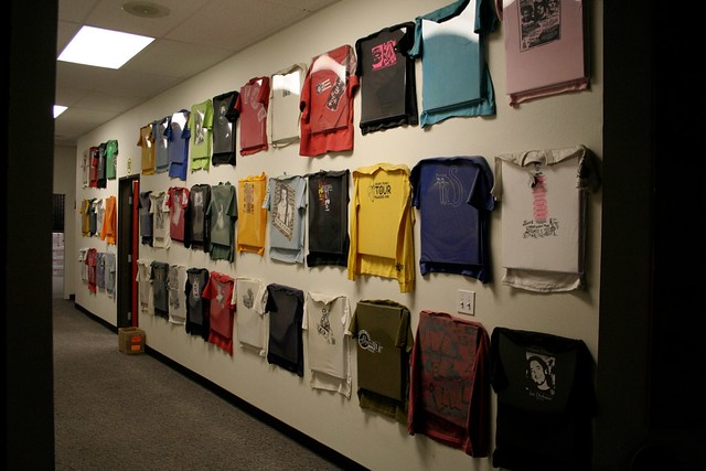 T Shirt Wall of Fame | Empire Ave | Flickr