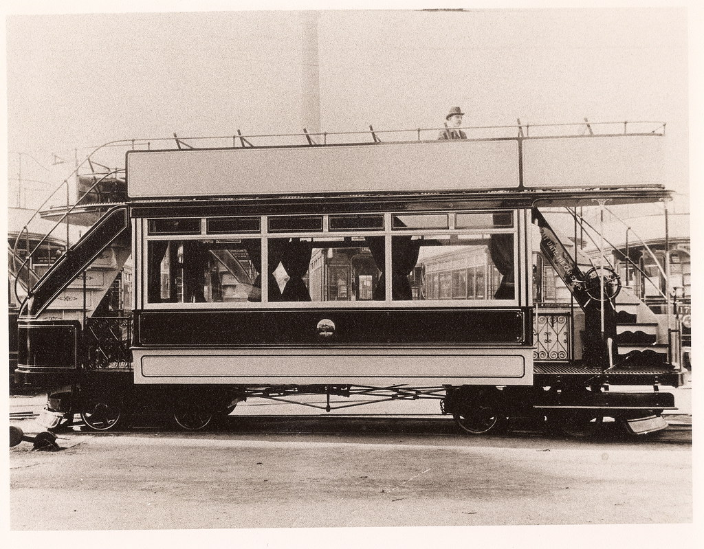Edinburgh Amp District Tramways Cable Tram Car 209 Built