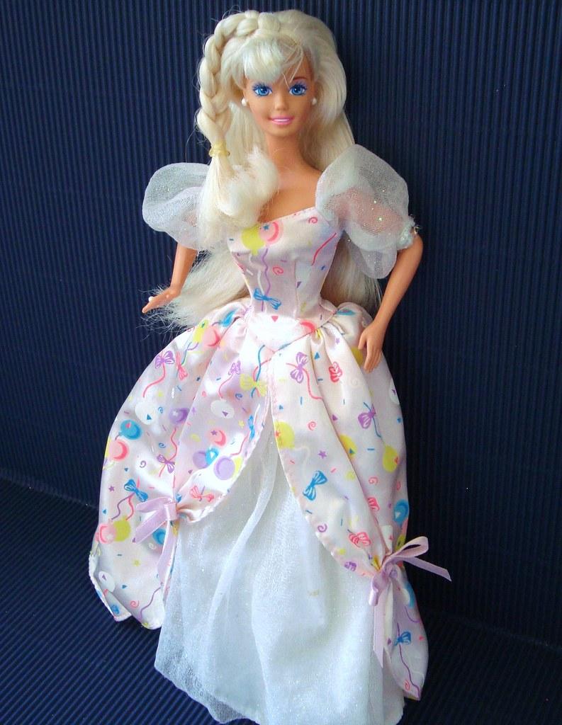 Birthday Barbie 1996 Nueva Sin Cajita Jorge Luis
