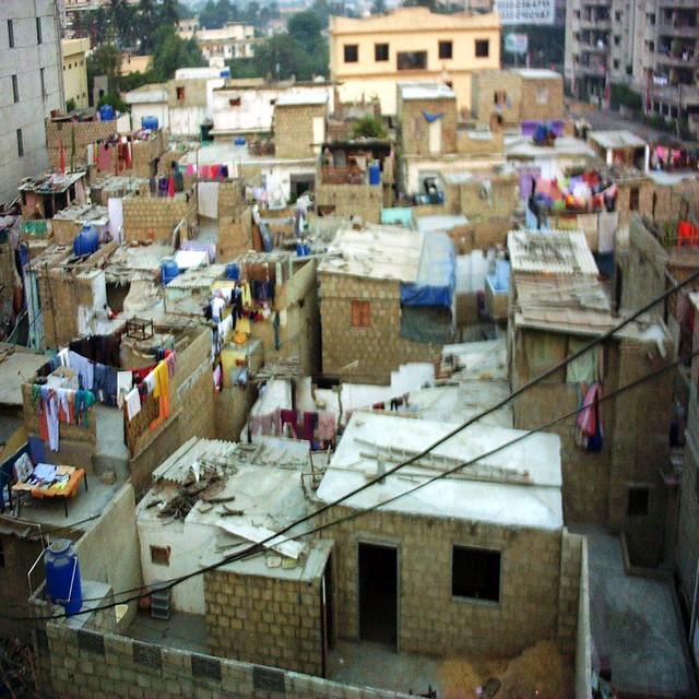 کچی آبادی، ریس کورس صدر، کراچی Slum Racecourse This