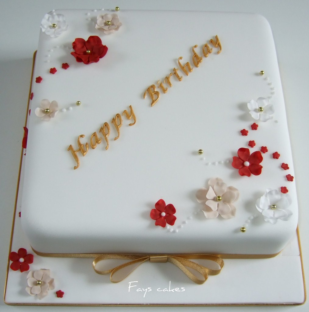 Edible Th Birthday Cake Decorations