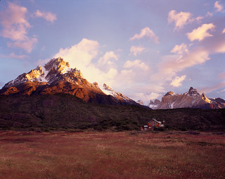 sun rise over Torres del Paine 4x5 | by spiky247