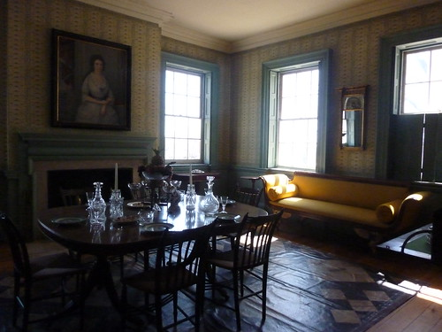 The dining room 1790 1810 morris jumel mansion 65 jumel for 65 jumel terrace new york