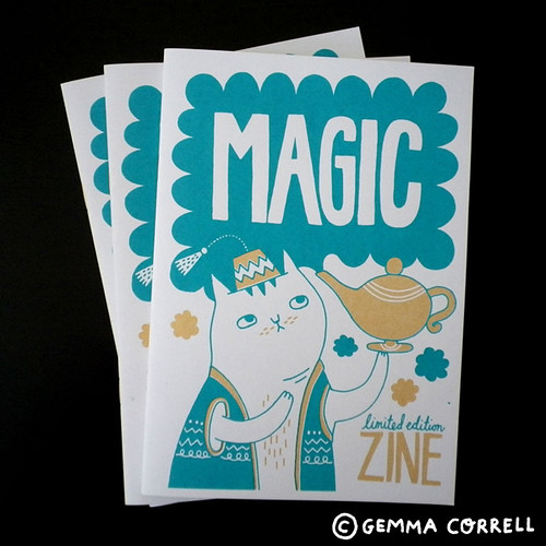 Magic zine | by gemma correll