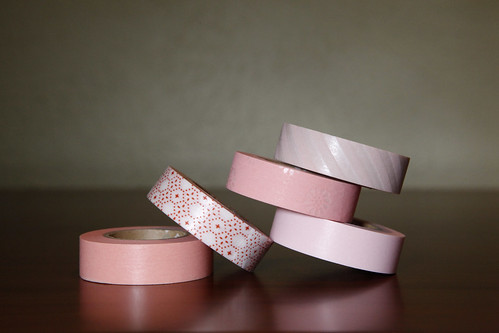Japanese Washi Tape Lovely Pinks | by cutetape