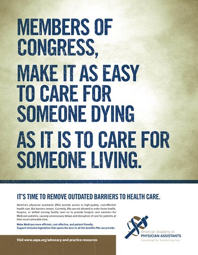 advocacy ad   july 2009 by american academy of physician assistants