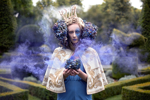 Wonderland : The Garden of Whispered Wishes | by Kirsty Mitchell