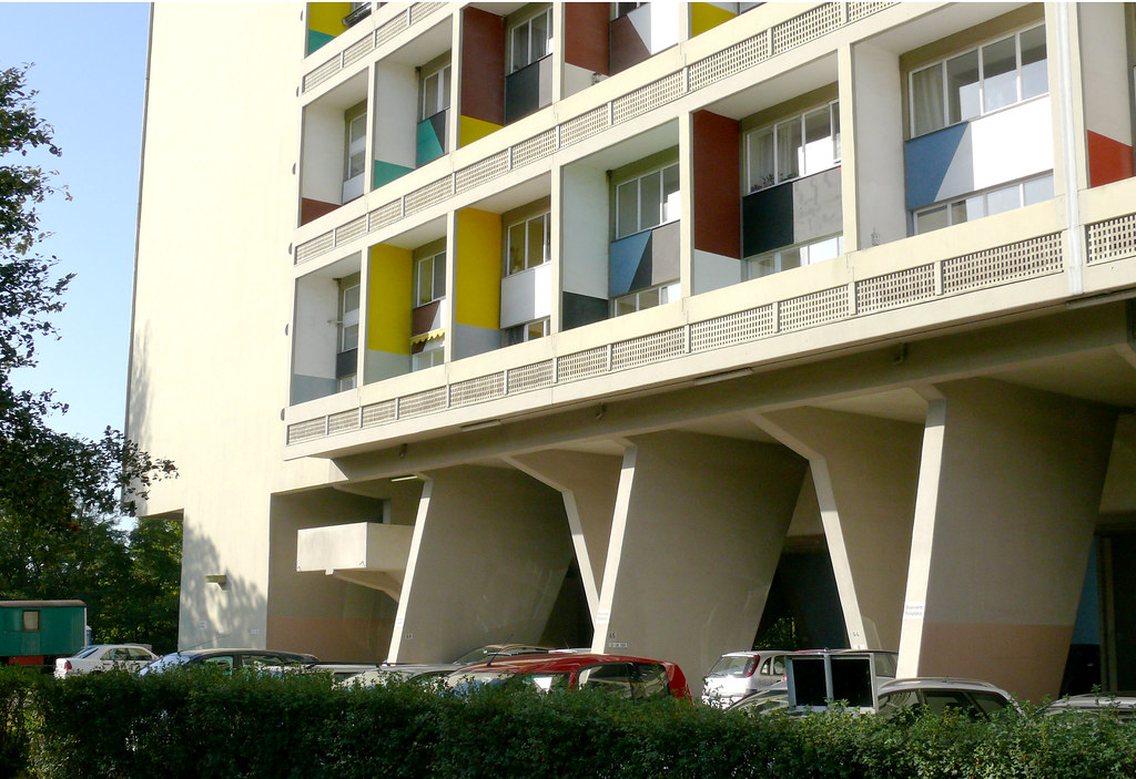 Unite d 39 habitation berlin architect le corbusier 1956 5 flickr - Toulousaine d habitation ...
