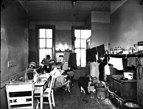 Tenement houses in new york city