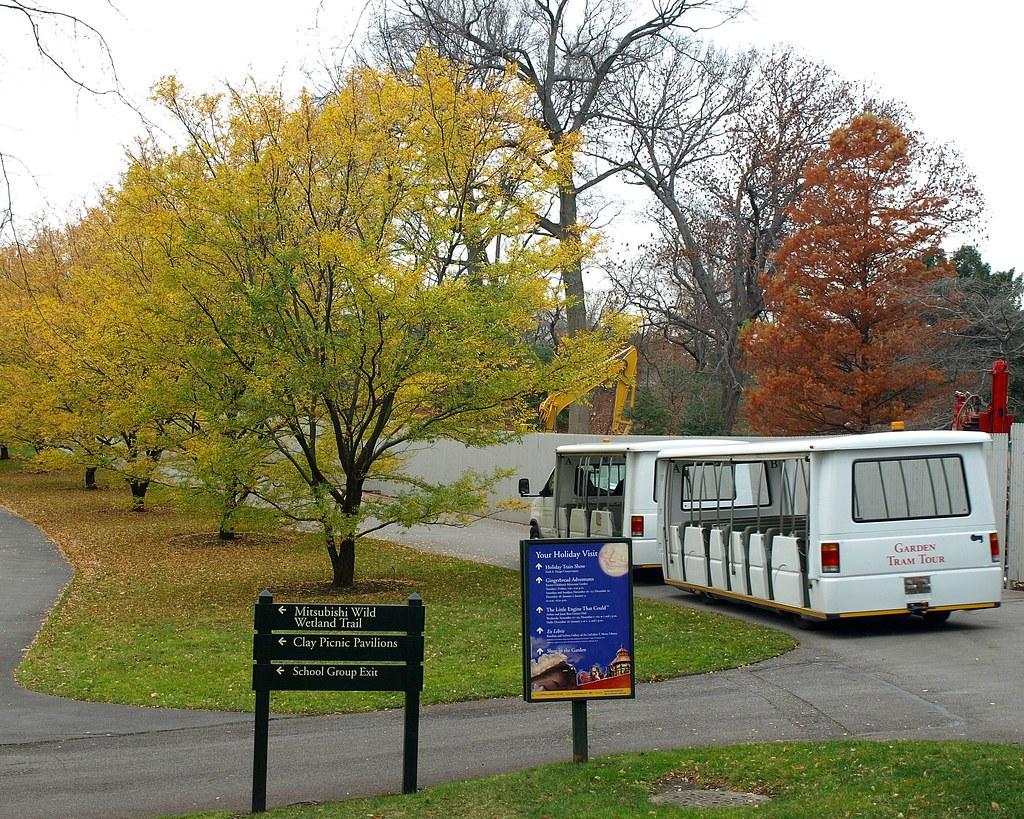 Garden Tram Tour, New York Botanical Garden