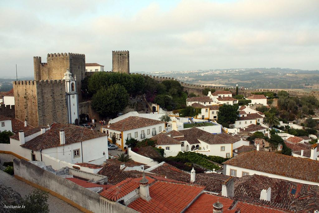 Obidos est une ville impeccable