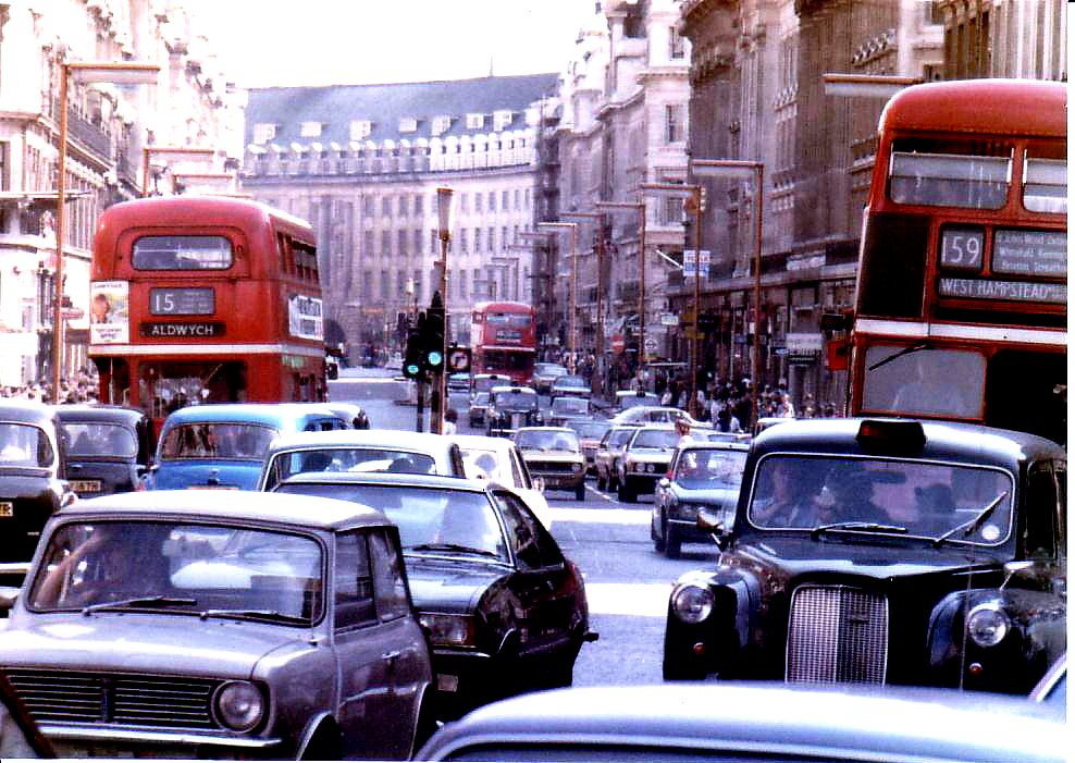 Regent Street, London, 1979 | John Blower | Flickr