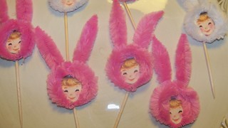 Bunny Girl Cupcake Toppers | by Jeanknee