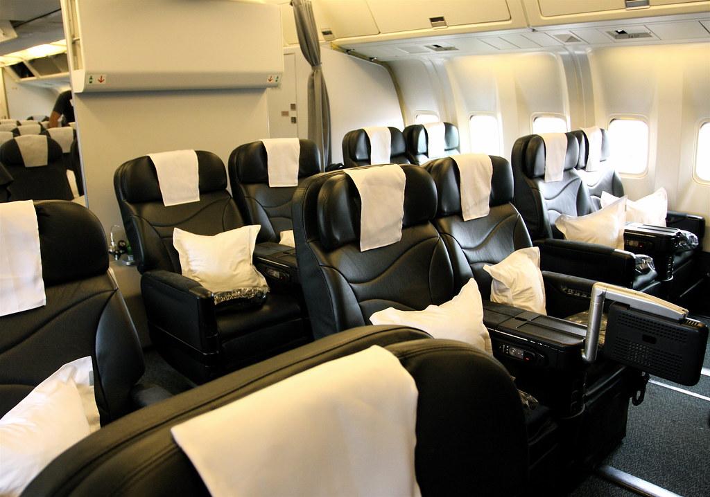 Air New Zealand Business Class - 767-300ER ...