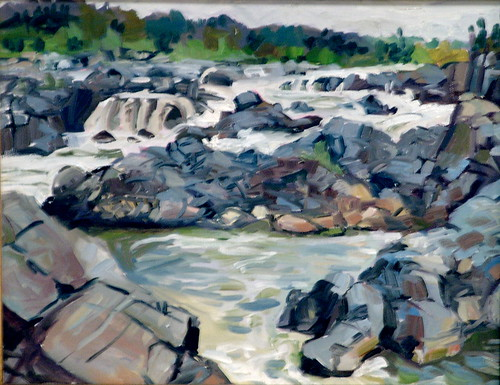 319 - Great Falls | by theartleaguegallery