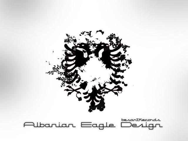 albanian eagle design design made by me flickr. Black Bedroom Furniture Sets. Home Design Ideas