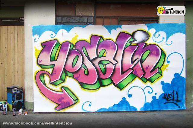 Graffitis del nombre yoselin - Imagui