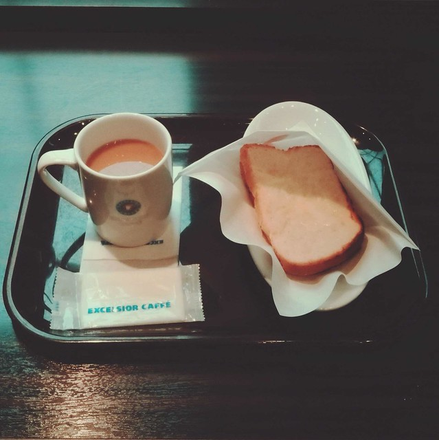 Croque monsieur and Coffee