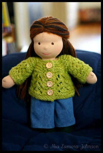 S's doll's February baby sweater | by *mia*