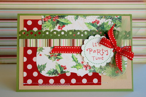 Party Invitation | by Bunches and Bits {Karina}