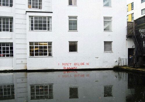 Believe in not banksy | by not banksy