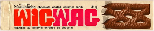 WigWag Candy Bar wrapper 1970s | by joad_henry