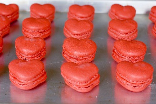 red velvet macarons - pairing | by jayme michelle