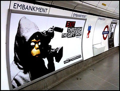Banksy - Exit Through The Gift Shop advert | by artofthestate