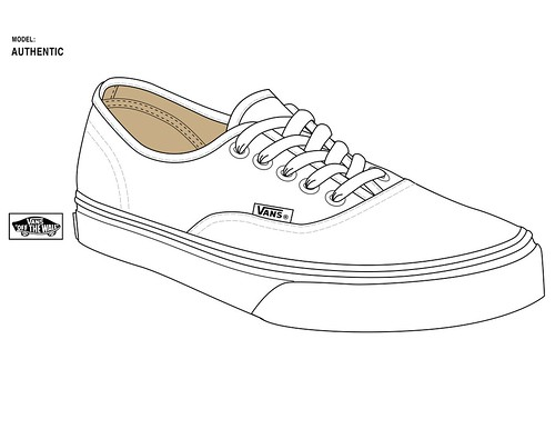 Authentic Official templates straight from Vans