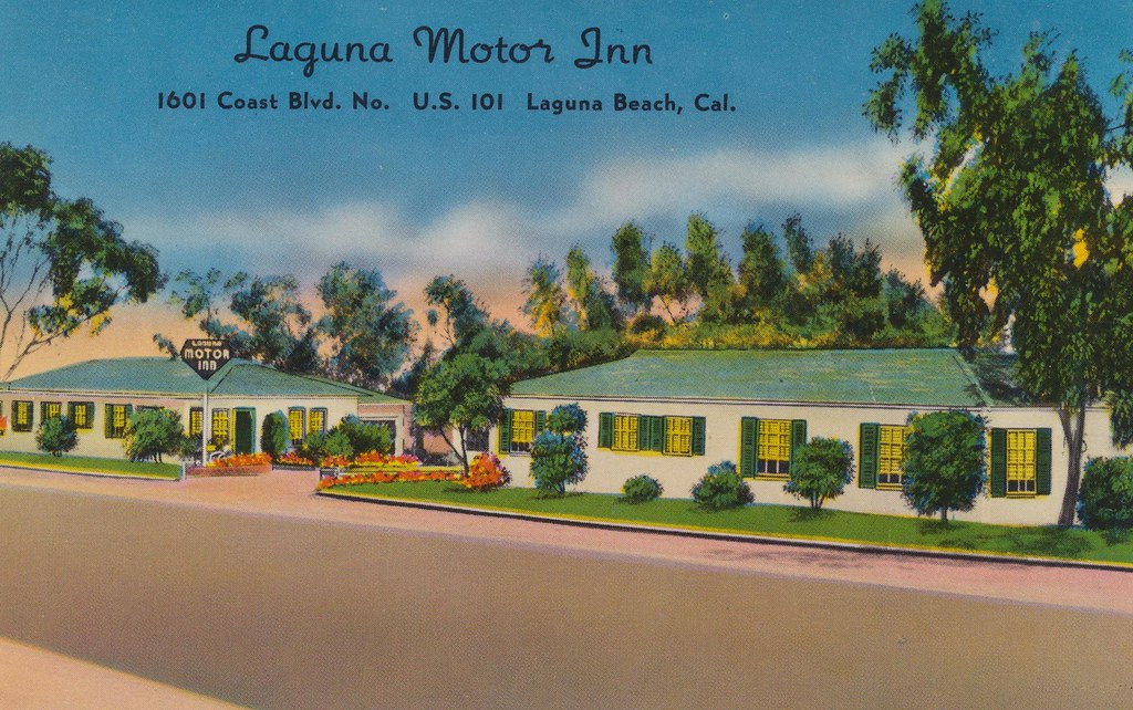 the cardboard america motel archive laguna motor inn