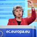 Press conference by Viviane Reding