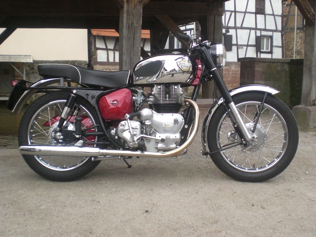 Royal Enfield Constellation 1958 700cc Ohv Michel 67