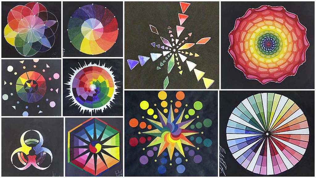 color wheel 1 creative color wheels bob reid flickr. Black Bedroom Furniture Sets. Home Design Ideas