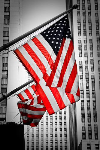 American Flag, NYC | by Mason Sklut