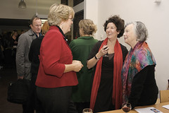 Paula Murray, Head of Culture and Economy - Brighton & Hove City Council, Jackie Lythell, Brighton & Hove Arts Commision and Janita Bagshawe, Director - Brighton Museum & Art Gallery | by Brighton Photo Biennial (bpb)