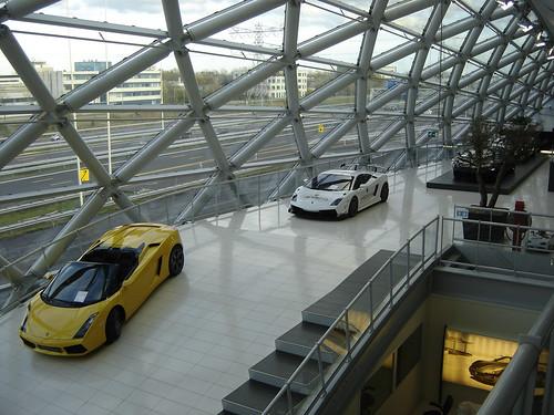 Utrecht Hessing Lamborghini Showroom In 2005 This Car Sho Flickr