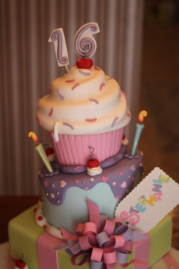 Sweet 16 Cake Andrea Sullivan Flickr