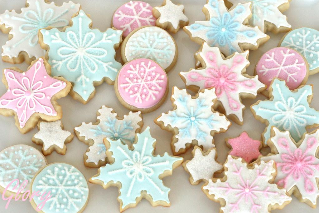 pastel snowflake wallpaper - photo #5