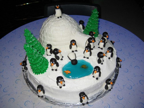 Penguin Cakes Images