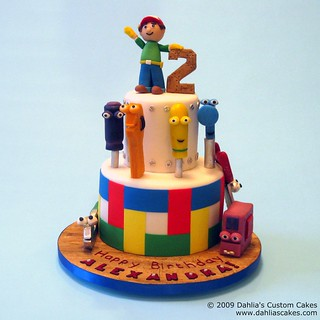 Handy Manny Birthday Cake Pan