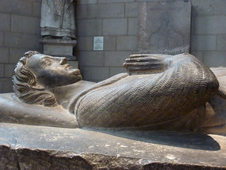 Tomb Effigy of Jean d'Alluye | by navema