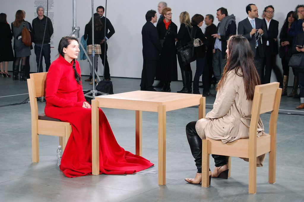 Marina abramovi the artist is present 2010 marina abra flickr marina abramovi the artist is present 2010 by 16 miles of string thecheapjerseys Image collections