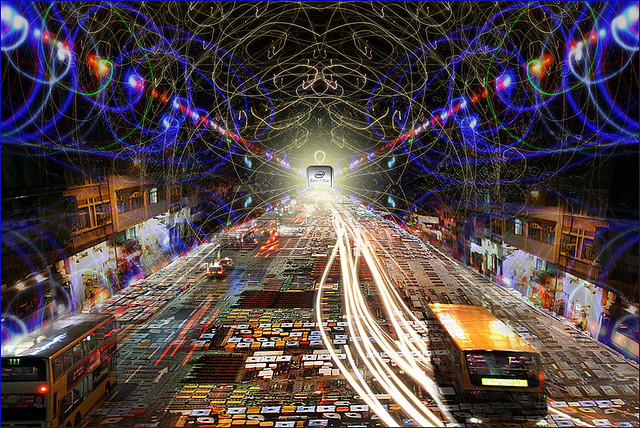 Information Superhighway Composite Image Created For The