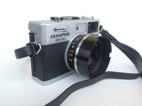OLYMPUS 35 RC + Hood 4 | by THE OLYMPUS CAMERAS COLLECTOR