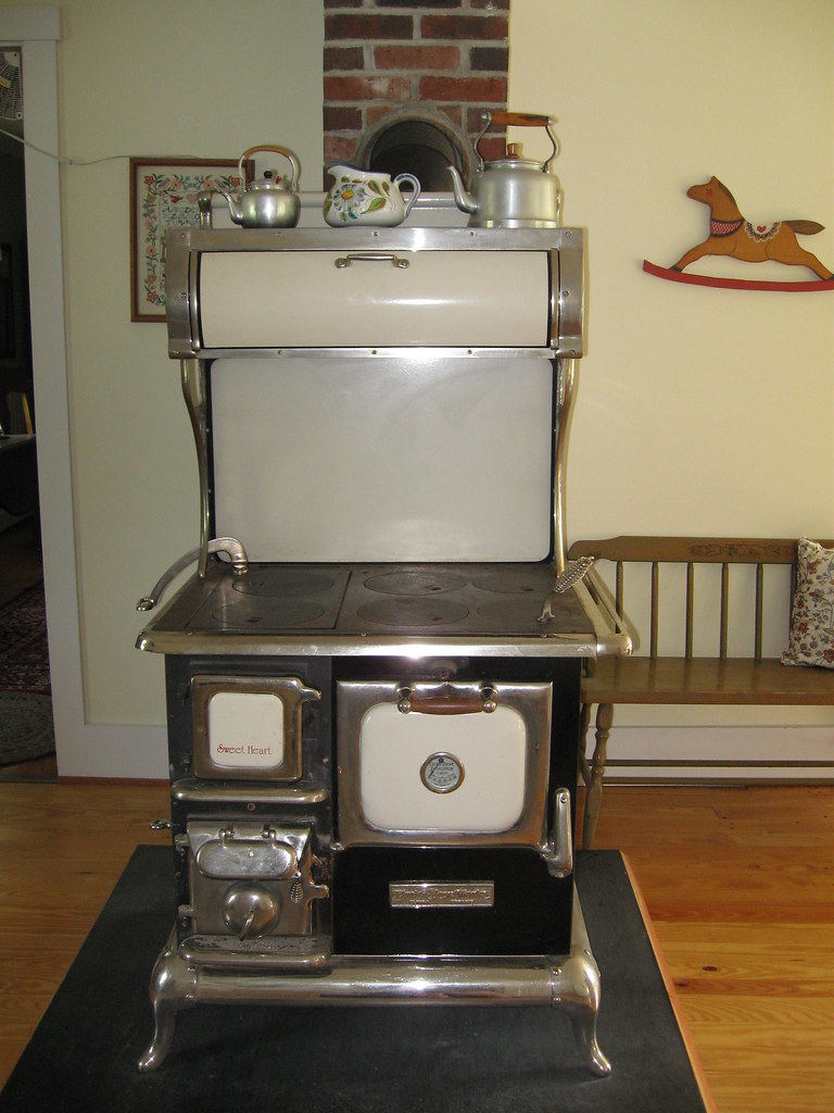 Old Fashioned Wood Cook Stove