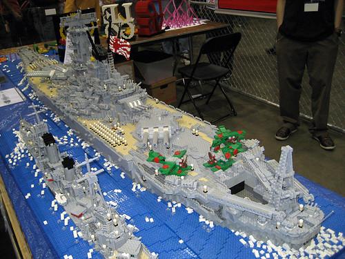 Lego Yamato Battleship