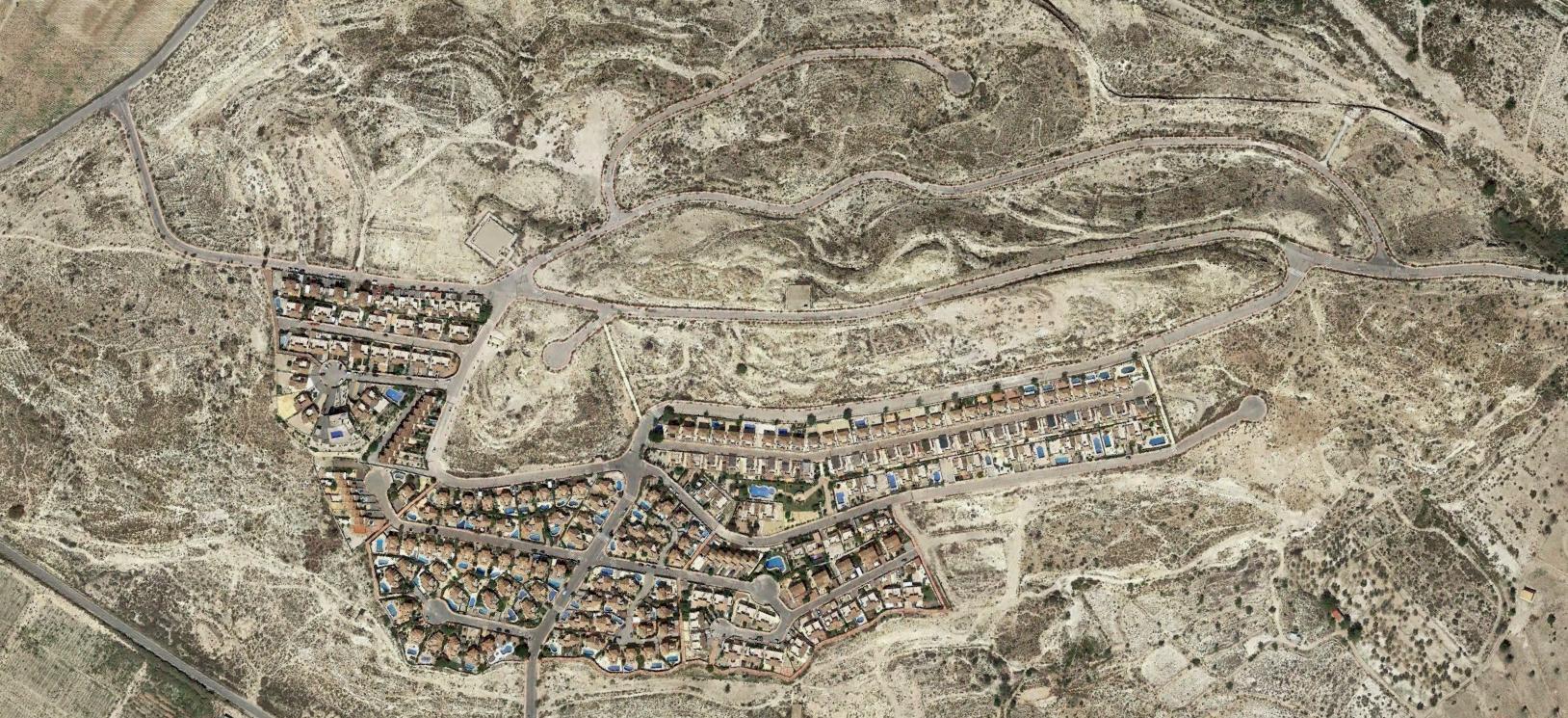 cotoveta, alicante, cotoban, después, urbanismo, planeamiento, urbano, desastre, urbanístico, construcción, rotondas, carretera