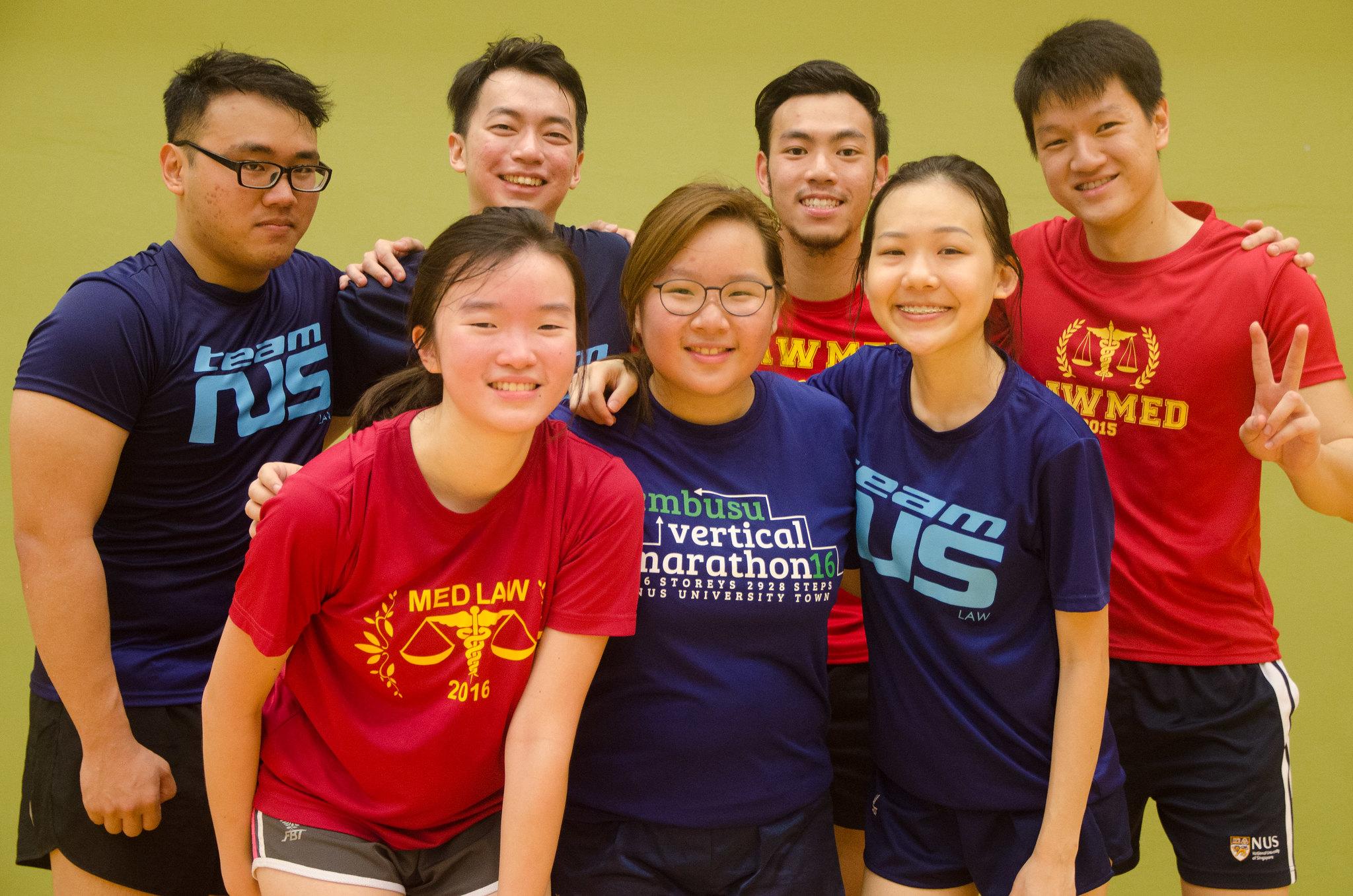 Back Row (L-R): Ivan (Y3), Elvis (Y3), Kyle (Y3), Wei Rong (Y4) Front Row (L-R): Erica (Y2), Joelle (Y1), Rae Ann (Y1)