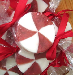 Peppermint Candy Cane Soap | by ♥  Bathing In Luxury ♥  aka Soap